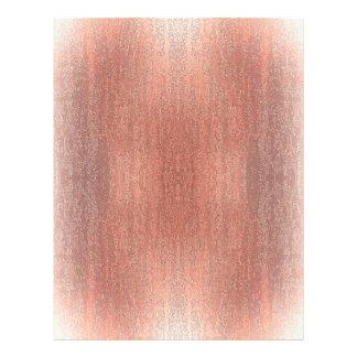 Rainy Glass with Snow Rustic Brown 21.5 Cm X 28 Cm Flyer