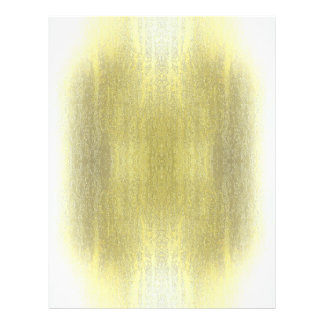 Rainy Glass with Snow Yellow 21.5 Cm X 28 Cm Flyer