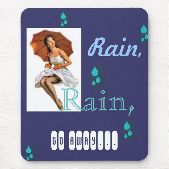 Rainy Pinup mousepad