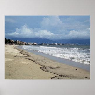 Rainy Season Clouds over Puerto Vallarta Poster