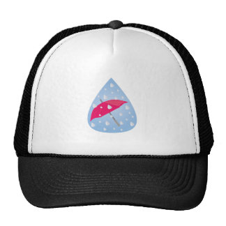 Rainy Umbrella Trucker Hat