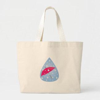Rainy Umbrella Jumbo Tote Bag