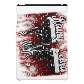 RAINY ZEBRA LOGO COVER FOR THE iPad MINI