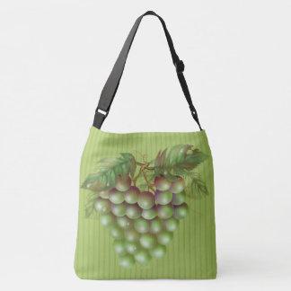 RAISAIN GRAPES  All-Over-Print Cross Body Bag L