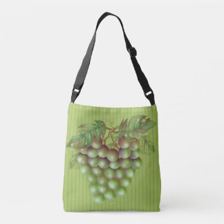RAISAIN GRAPES  All-Over-Print Cross Body Bag M