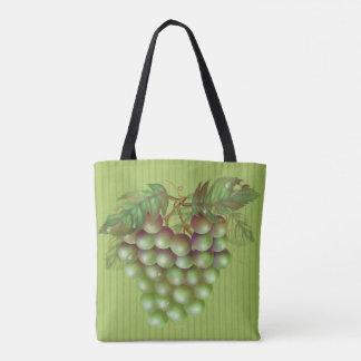 RAISAIN GRAPES  All-Over-Print Tote Bag M