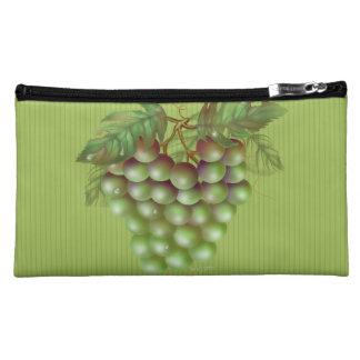 RAISAIN GRAPES FRUIT  Sueded Medium Cosmetic Bag