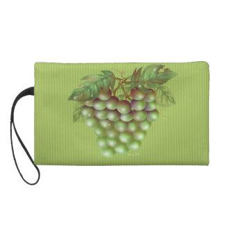 RAISAIN GRAPES FRUIT  Wristlet Bag
