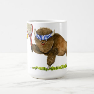 Raise a Racket Buffalo mug