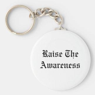 Raise The Awareness Keychain