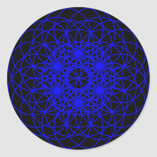 """Raise The Chakra """"Sound"""" Round Sticker"""