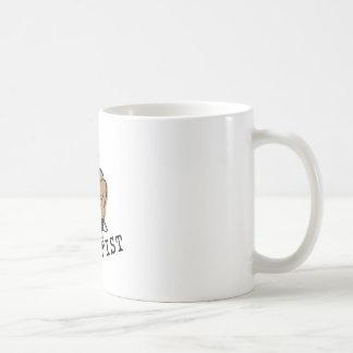 Raise Your Fist Basic White Mug