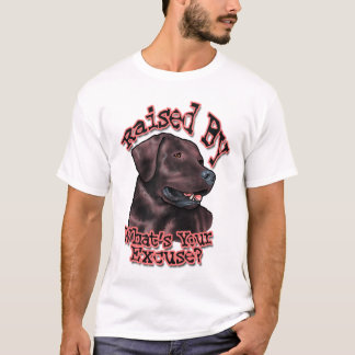 Raised By Choc Lab Shirt