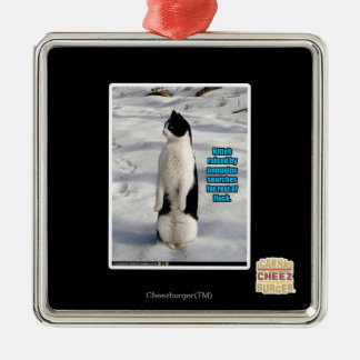 Raised by Penguins Christmas Ornament