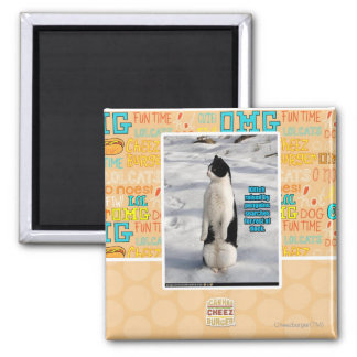 Raised by Penguins Magnet