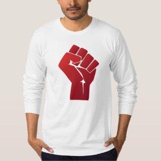 Raised Red Gradient Fist T-Shirt
