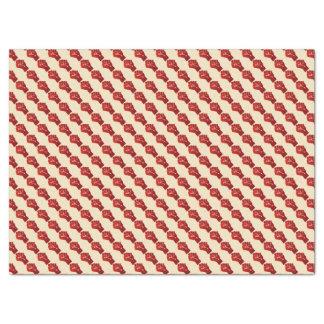 Raised Red Gradient Fist Tissue Paper