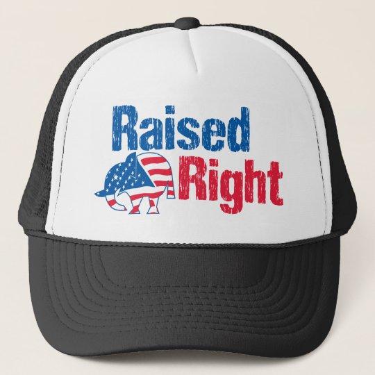 Raised Right - Republican Trucker Hat