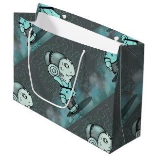 RAISELLE ALIEN MONSTER GIFT BAG LARGE
