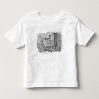 Raising a block of buildings in Chicago Toddler T-Shirt