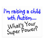 Raising A Child With Autism Whats Your Super Power Post Card