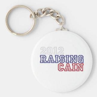 Raising Cain Basic Round Button Key Ring