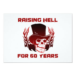 Raising Hell For 60 Years Card