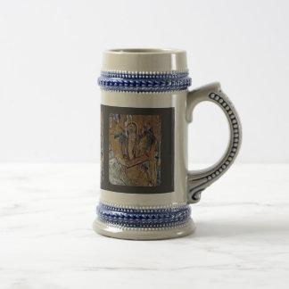 Raising Of Lazarus By Meister Der Pantanassa-Kirch Beer Stein