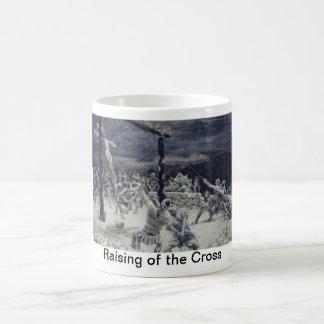 Raising of the Cross Basic White Mug