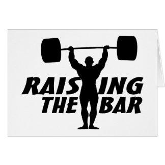 Raising The Bar Card