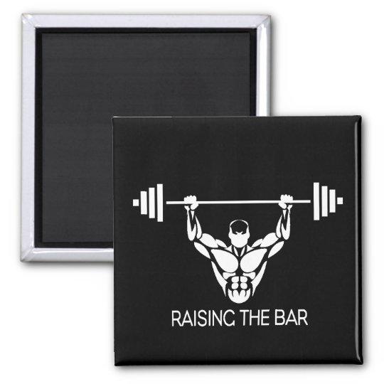 Raising the bar magnet