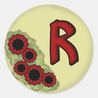 Raiza'z Reason Round Sticker