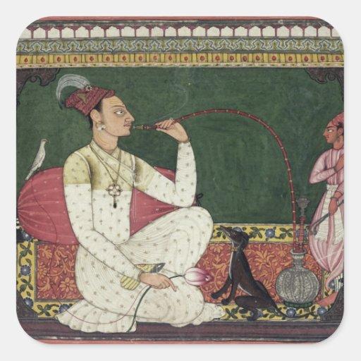 Raja Medini Pal, inscribed on the reverse in Takar Stickers