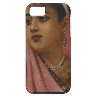 Raja_Ravi_Varma,_The_Parsee_Lady iPhone 5 Covers