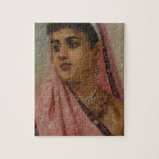 Raja_Ravi_Varma,_The_Parsee_Lady Jigsaw Puzzle