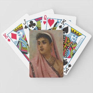 Raja_Ravi_Varma,_The_Parsee_Lady Poker Deck