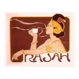 Rajah Coffee Postcard
