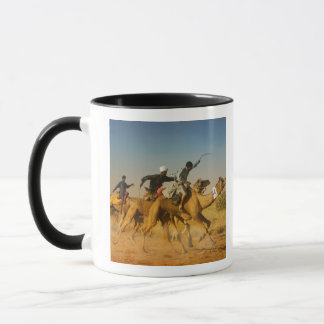 Rajasthan, India camel races in the Thar Desert Mug