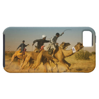 Rajasthan, India camel races in the Thar Desert Tough iPhone 5 Case