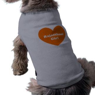 Rajasthani Girl Sleeveless Dog Shirt