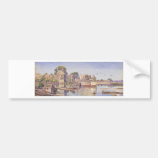 Rajput Forts by Marianne North Bumper Sticker