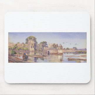 Rajput Forts by Marianne North Mouse Pad