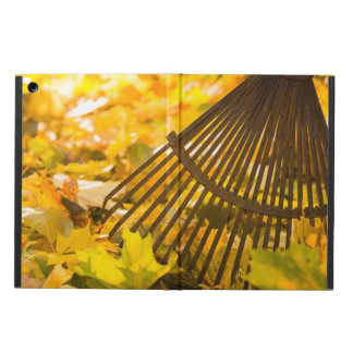 Rake And Leafs Case For iPad Air