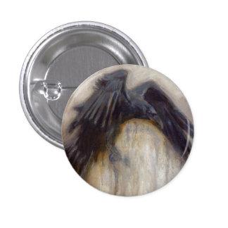 Rake Raven Button