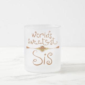 Rakhi – World s Sweetest Sis Coffee Mugs