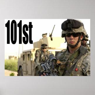 Rakkasan 101st Airborne Poster