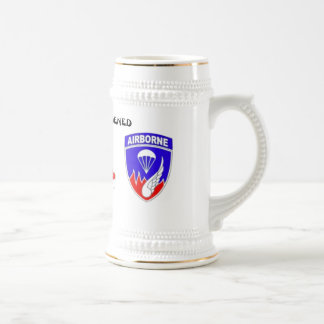 Rakkasan 187th Infantry Regiment (Pre-101st.) Beer Stein