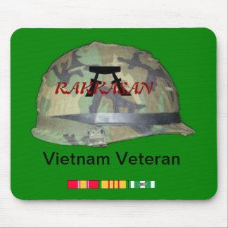 Rakkasan Vietnam veteran mousepad