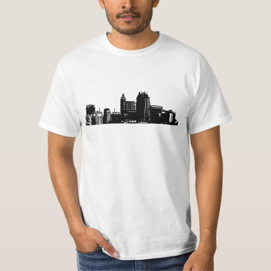 Raleigh - 919 (Black Logo) 2 Sides T-Shirt
