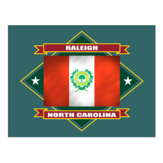 Raleigh Diamond Postcard